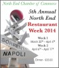 5th North End Restaurant Week